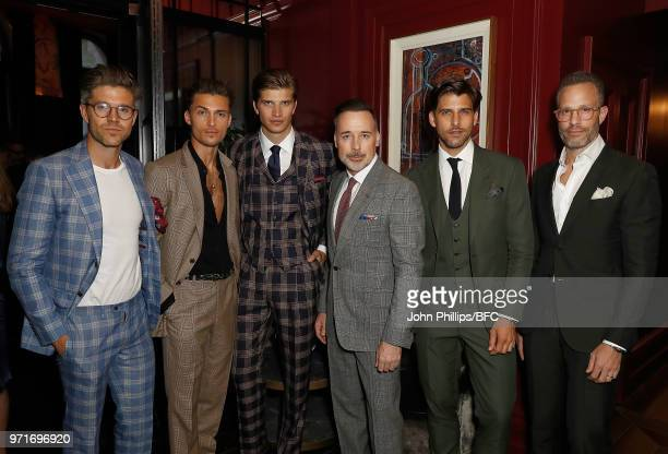 Darren Kennedy Harvey NewtonHaydon Toby Huntington Whitley David Furnish Johannes Huebl and Andrew Weitz attend the GQ Dinner cohosted by Loyle...