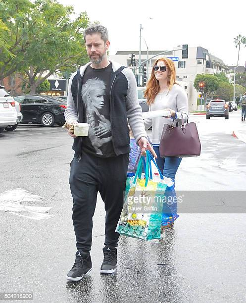 Darren Le Gallo and Amy Adams are seen on January 09 2016 in Los Angeles California