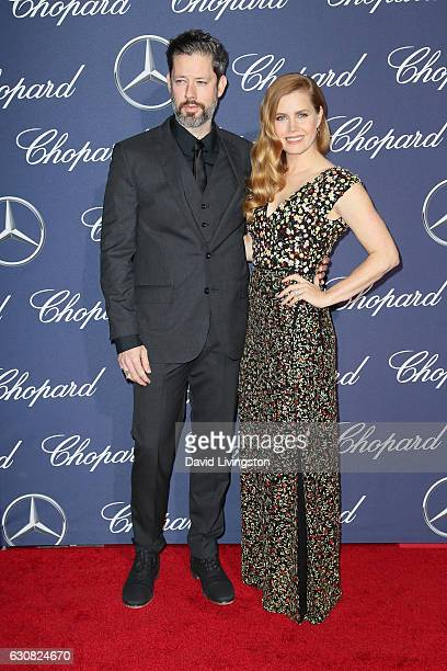Darren Le Gallo and Amy Adams arrive at the 28th Annual Palm Springs International Film Festival Film Awards Gala at the Palm Springs Convention...