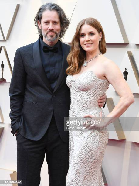 Darren Le Gallo and Amy Adams arrives at the 91st Annual Academy Awards at Hollywood and Highland on February 24 2019 in Hollywood California