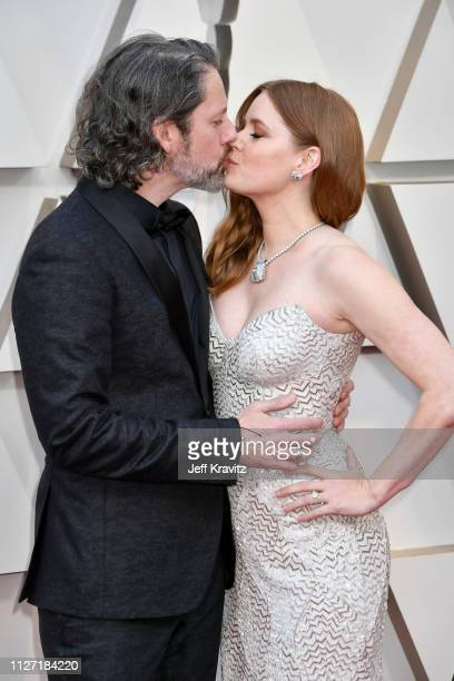 Darren Le Gallo and Amy Adams attends the 91st Annual Academy Awards at Hollywood and Highland on February 24 2019 in Hollywood California