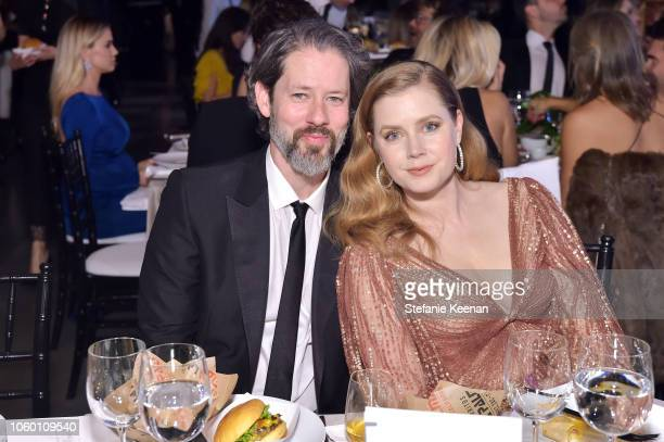 Darren Le Gallo and honoree Amy Adams pose at the 2018 Baby2Baby Gala Presented by Paul Mitchell at 3LABS on November 10 2018 in Culver City...