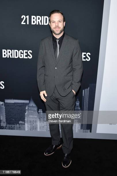Darren Lipari attends 21 Bridges New York Screening at AMC Lincoln Square Theater on November 19 2019 in New York City
