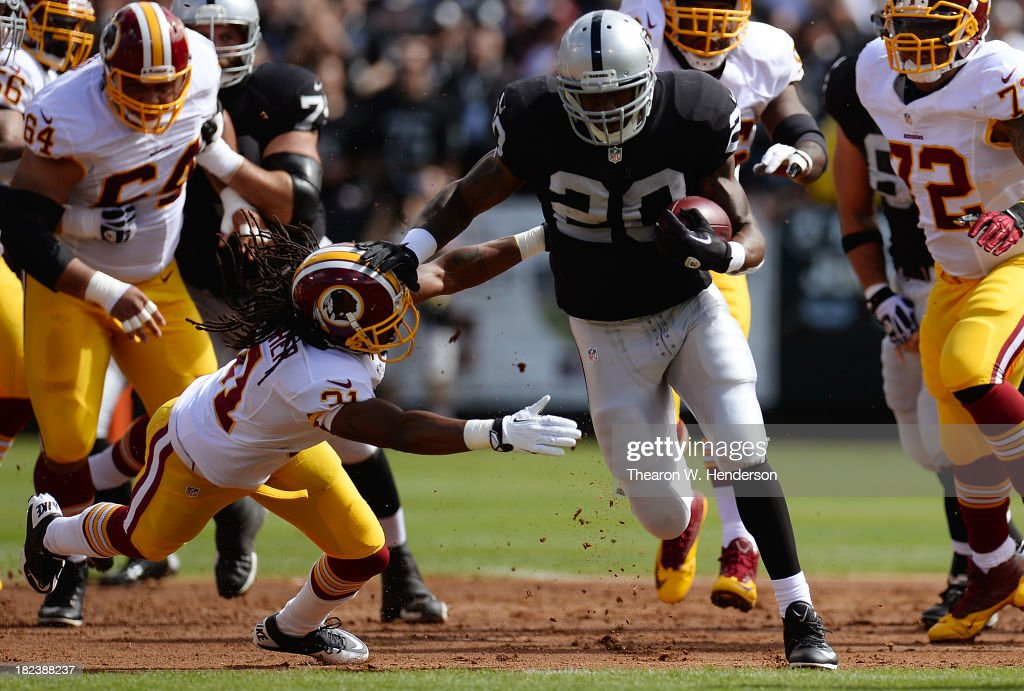 Washington Redskins v Oakland Raiders