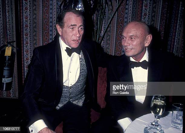 Darren McGavin and Yul Brynner during Party Celebrating the Opening of the Harrah's Hotel and Casino in Atlantic City at Tavern On The Green in New...