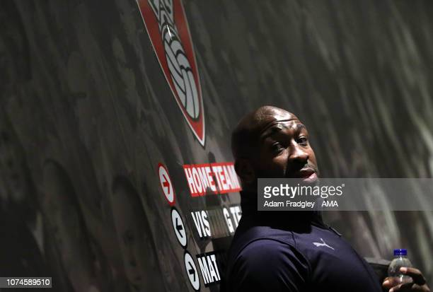 Darren Moore head coach / manager of West Bromwich Albion arrives at the stadium during the Sky Bet Championship match between Rotherham United and...