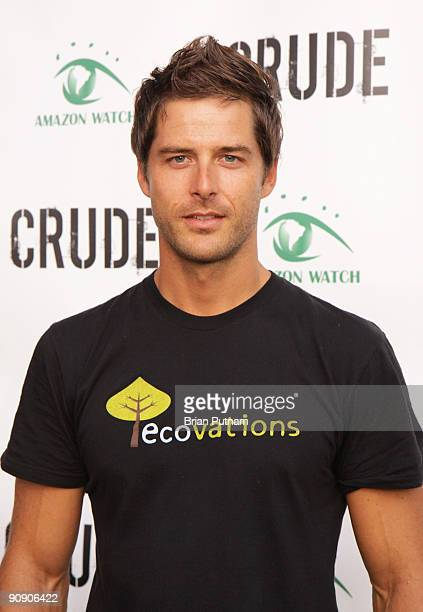 Darren Moore of 'Alter Eco' show arrives for the screening of the film 'CRUDE' at Harmony Gold Theatre on September 17 2009 in Los Angeles California