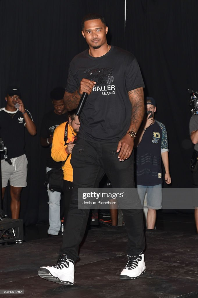 Darren Morre attends Melo Ball's 16th Birthday on September 2, 2017 in Chino, California.