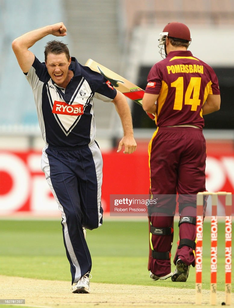 Ryobi One Day Cup - Final: Bushrangers v Bulls