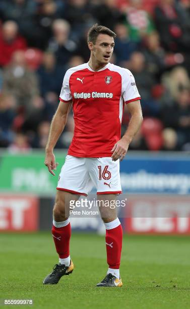 Darren Potter of Rotherham United in action during the Sky Bet League One match between Rotherham United and Northampton Town at The Aesseal New York...