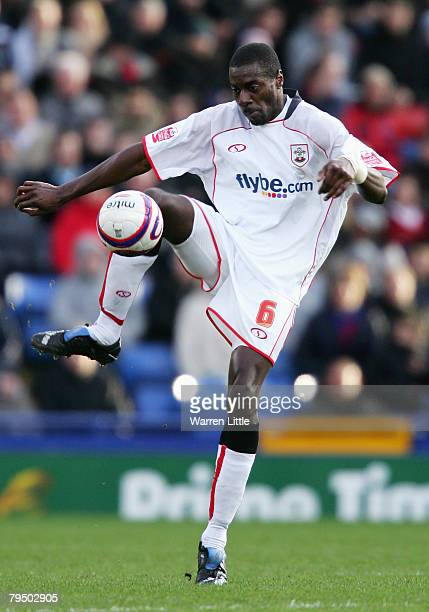 Darren Powell of Southampton in action during the Coca-Cola Championship match between Crystal Palace and Southampton at Selhurst Park on February 2,...