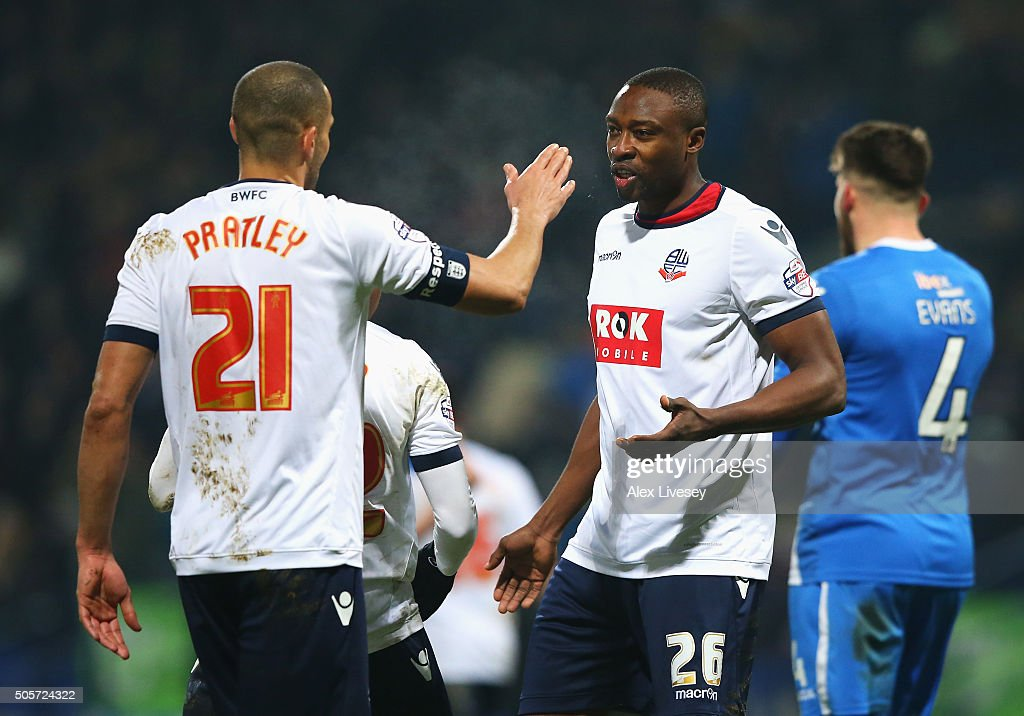 Bolton Wanderers v Eastleigh - The Emirates FA Cup Third Round Replay : News Photo
