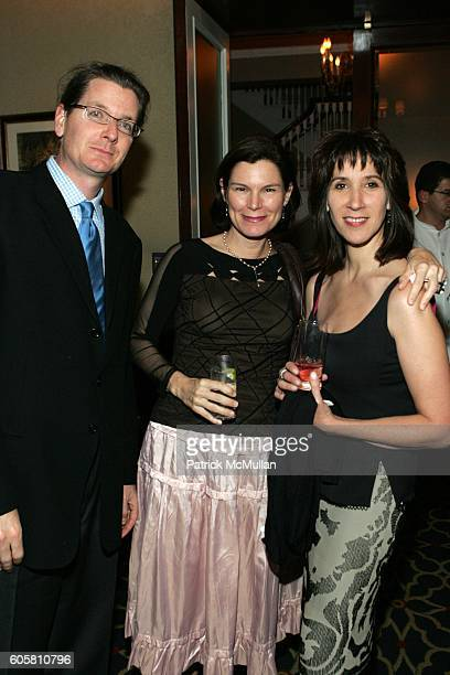 Darren Reed Carolina Reed and Nancy Hass attend Charles Stevenson Melissa Biggs Bradley Jennifer Isham Terrry Allen Kramer and Doubleday Celebrate...