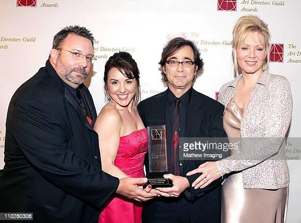 Darren Reed Goodal Nicole Eles Pure John Sabato winner of the MultiCamera TV Series award with presenter Jean Smart *exclusive*