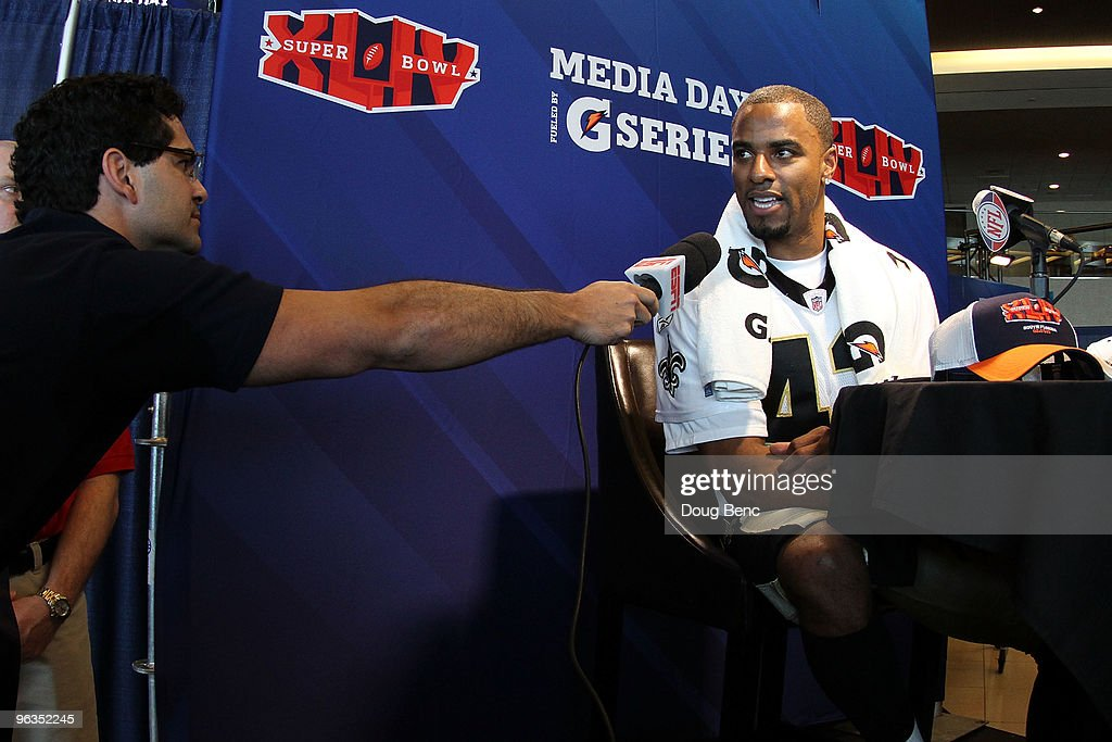 Super Bowl XLIV - NFC Media Day