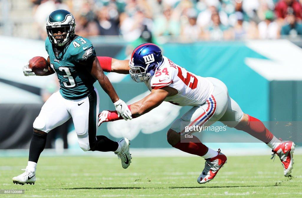 New York Giants vPhiladelphia Eagles : News Photo