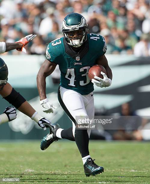 Darren Sproles of the Philadelphia Eagles plays against the Cleveland Browns at Lincoln Financial Field on September 11 2016 in Philadelphia...