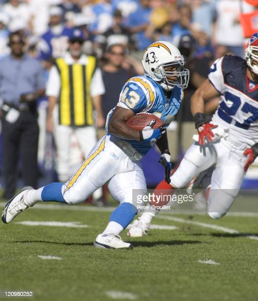 Darren Sproles Running Back For The San Diego Chargers