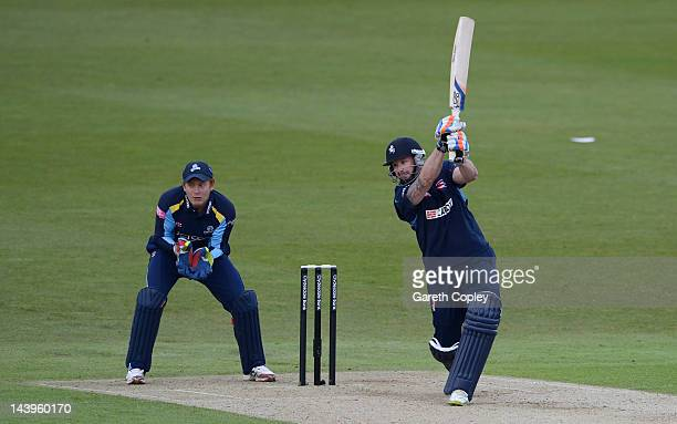 Darren Stevens of Kent bats during the Clydesdale Bank Pro40 match between Yorkshire and Kent at Headingley Carnegie Stadium on May 6 2012 in Leeds...
