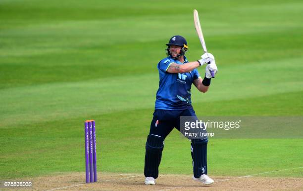 Darren Stevens of Kent bats during the Royal London OneDay Cup match between Somerset and Kent at The Cooper Associates County Ground on May 2 2017...
