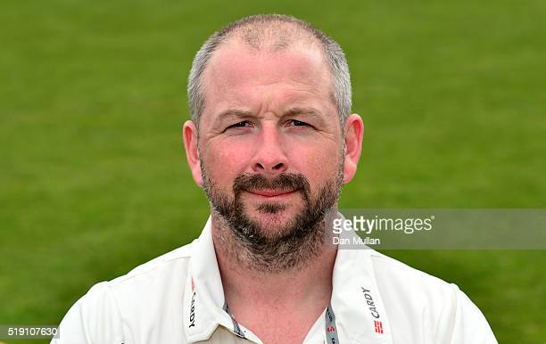 Darren Stevens of Kent poses during the Kent CCC Photocall at The Spitfire Ground on April 4 2016 in Canterbury England