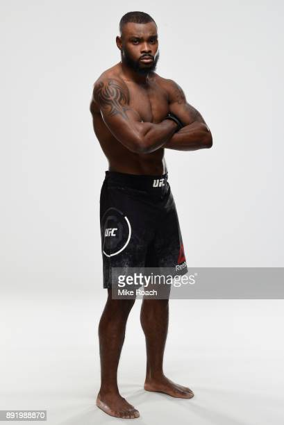 Darren Stewart of England poses for a portrait during a UFC photo session on December 13 2017 in Winnipeg Canada