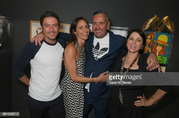 Darren Strowger Rosemary Ferguson Fat Tony and Sadie Frost attend adidas 'Prouder' A Fat Tony Project in aid of the Albert Kennedy Trust supporting...
