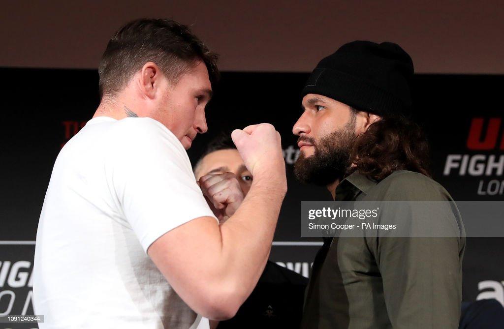 UFC Fight Night London Press Conference - BT Tower : News Photo