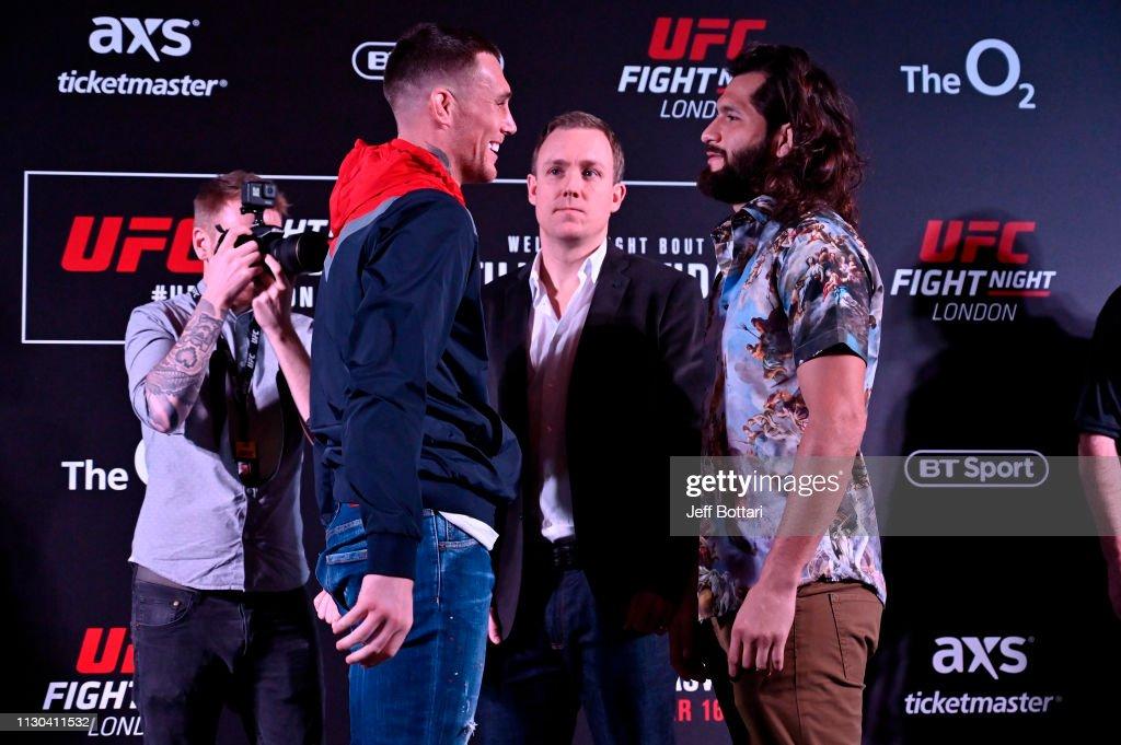UFC Fight Night Ultimate Media Day : News Photo