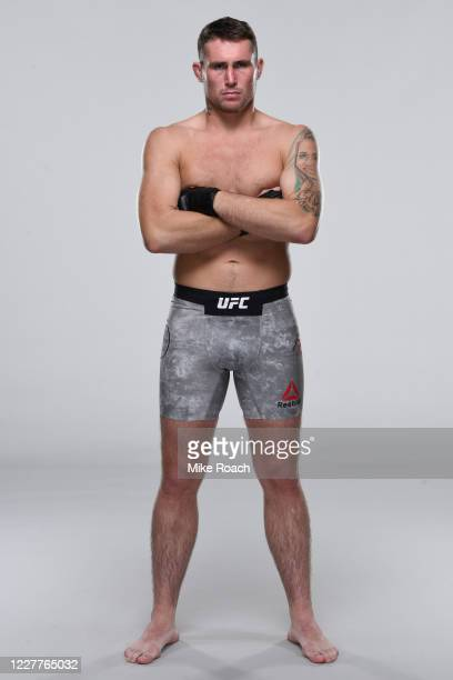 Darren Till of England poses for a portrait during a UFC photo session on July 22 2020 in Yas Island Abu Dhabi United Arab Emirates