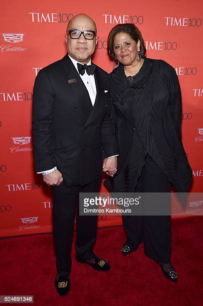 Darren Walker and Anna Deavere Smith attend 2016 Time 100 Gala Time's Most Influential People In