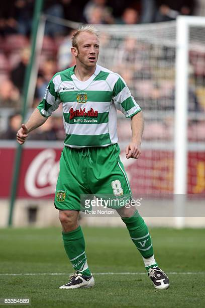 Darren Way of Yeovil Town in action during the Coca Cola League One Match between Northampton Town and Yeovil Town at Sixfields Stadium on October 18...