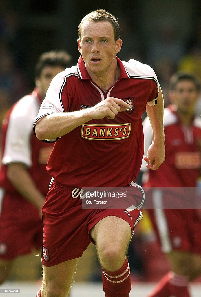 Darren Wrack of Walsall during the Nationwide League Division One match between Watford and Walsall at Vicarage Road in Watford, England on September 7, 2002.