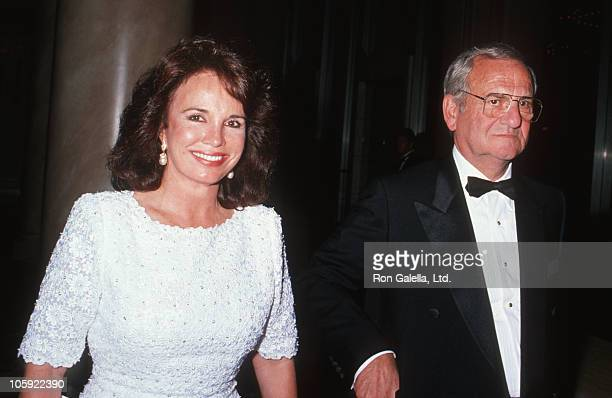 Darrien Earle and Lee Iacocca during 4th Entertainment Industry Council Awards at Century Plaza Hotel in Los Angeles California United States