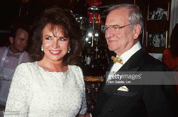 Darrien Earle and Lee Iacocca during Fred Hayman Launches New Perfume with Love at Rodeo Drive Store in Beverly Hills California United States