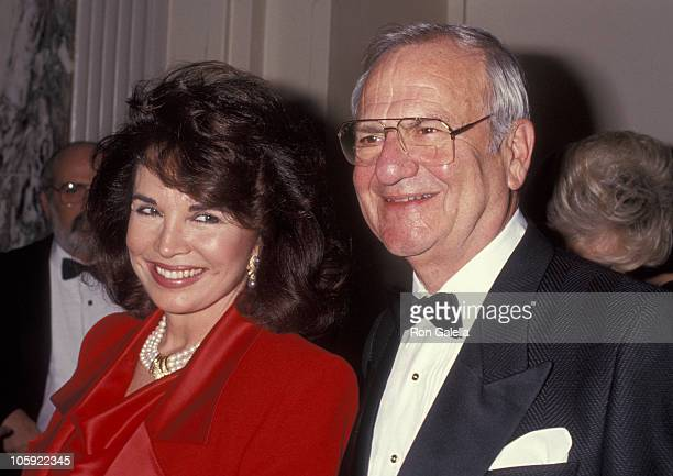 Darrien Earle and Lee Iacocca during RP Foundation Humanitarian Award Honors Lee Iacocca at Waldorf Astoria in New York City New York United States