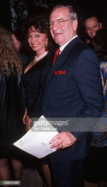 Darrien Earle and Lee Iacocca during Steel Magnolias New York City Premiere at Ziegfeld Theater in New York City New York United States