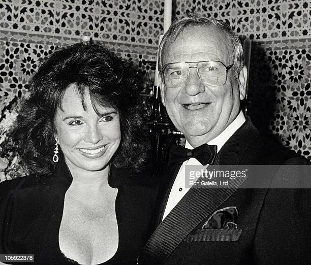 Darrien Earle and Lee Iococca during Malcolm Forbes' 70th Birthday Party 1989 at Tangier Country Club in Tangier Morocco Morocco