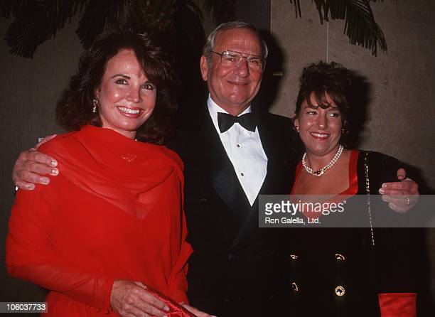 Darrien Earle Lee Iacocca and Kathryn Iacocca during Juvenile Diabetes Foundation Gala October 10 1991 at Beverly Hilton Hotel in Beverly Hills...