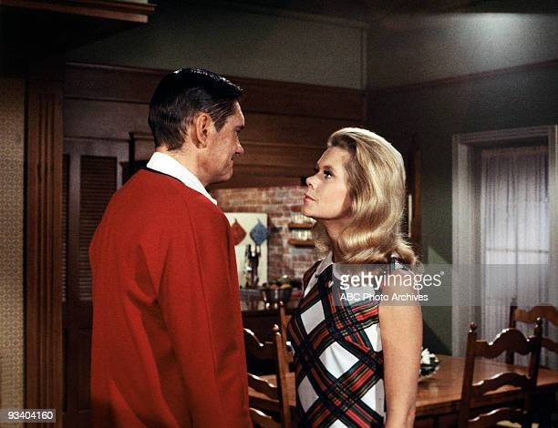 BEWITCHED 'Darrin Gone and Forgotten' Season Five 10/17/68 A witch made Darrin disappear after Samantha didn't marry her son