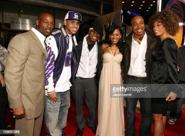 Darrin Henson Chris Brown NeYo Meagan Good Columbus Short and Valarie Pettiford