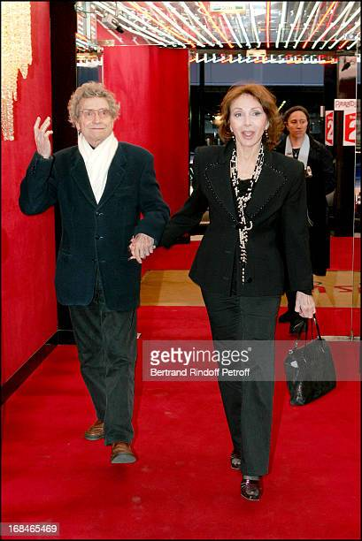 Darry Cowl and wife at Dalida TV Film Tribute To The Singer