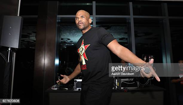 Darryl 'DMC' McDaniels attends An Evening Of Hip Hop With A Performance By Darryl 'DMC' McDaniels on December 3, 2016 in Miami, Florida.
