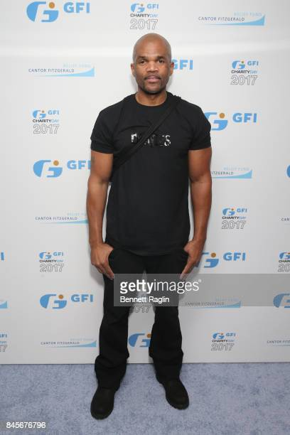Darryl 'DMC' McDaniels attends Annual Charity Day hosted by Cantor Fitzgerald BGC and GFI at GFI Securities on September 11 2017 in New York City