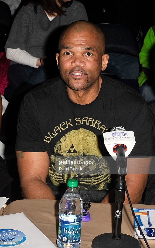 Darryl 'DMC' McDaniels attends Garden of Dreams Foundation Talent Show Auditions at The Theater at Madison Square Garden on February 27, 2013 in New York City.