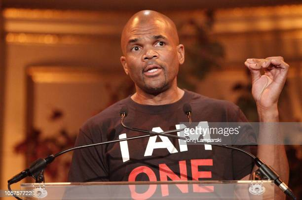 """Darryl """"D.M.C."""" McDaniels attends the 5th Annual Children's Rights Benefit at The Plaza Hotel on October 19, 2010 in New York City."""