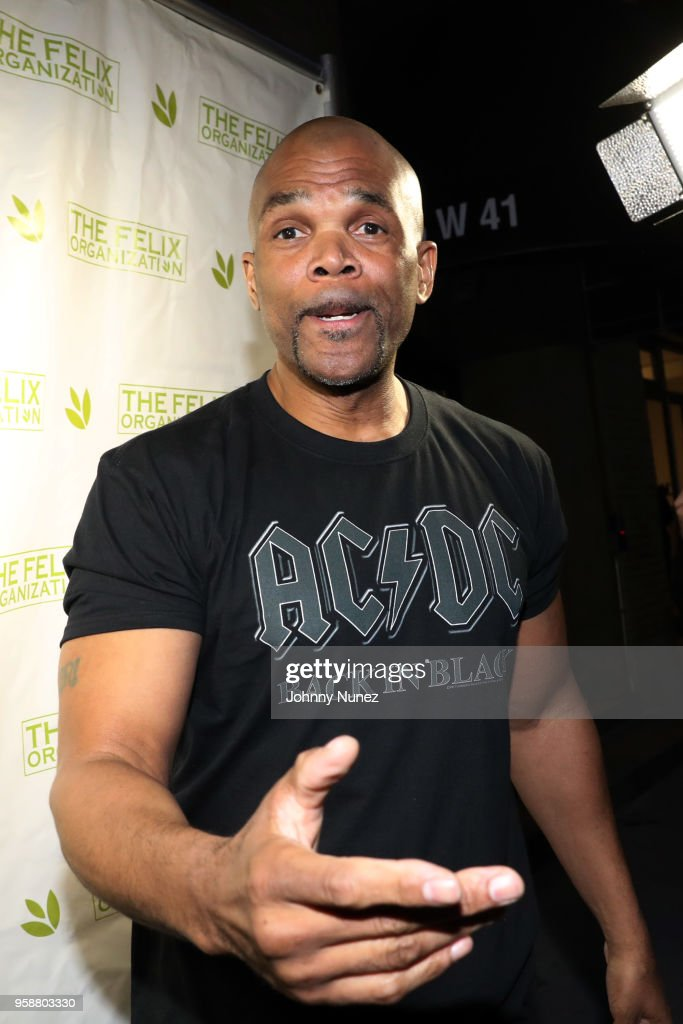 Darryl 'D.M.C.' McDaniels attends The Felix Organization's 2018 Dance This Way Benefit at Arena on May 14, 2018 in New York City.