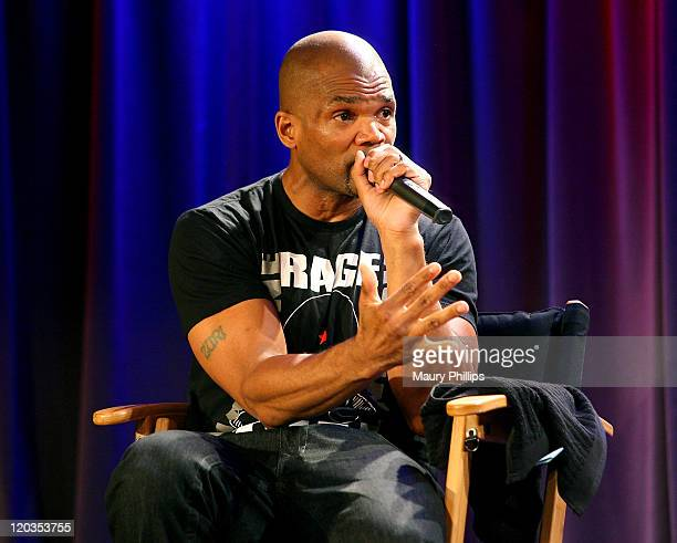 """Darryl """"DMC"""" McDaniels during Backstage Pass at The GRAMMY Museum on August 4, 2011 in Los Angeles, California."""