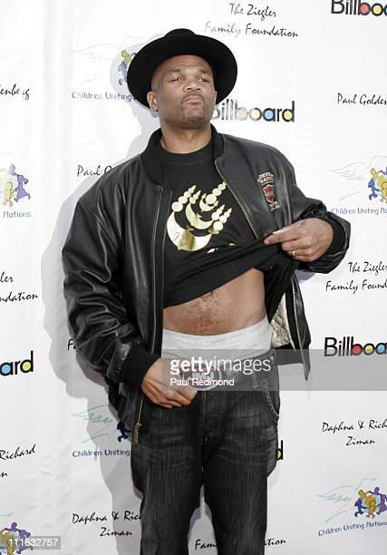 Darryl DMC McDaniels during Billboard Presents Children Uniting Nations Oscar Party Arrivals at Henry Fonda Theatre in Hollywood CA United States