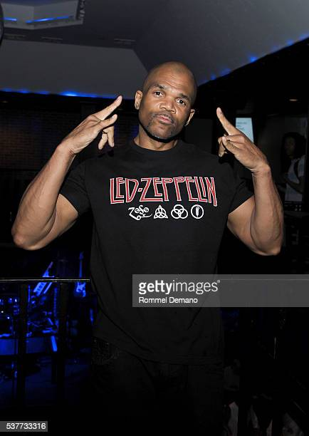 Darryl 'DMC' McDaniels of Run DMC attends 2016 Bryan Jacobson Foundation Charity Event at Howl at the Moon on June 2 2016 in New York City